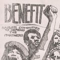 Poster for a benefit for the Panther 21 (1970).