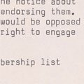 Letter opposing Met Council on Housing's work with the Black Panther Party (1971).