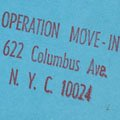 Operation Move-In Poster (ca. 1970)