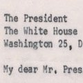 Met Council on Housing letter to JFK regarding the violence in Birmingham (1963).