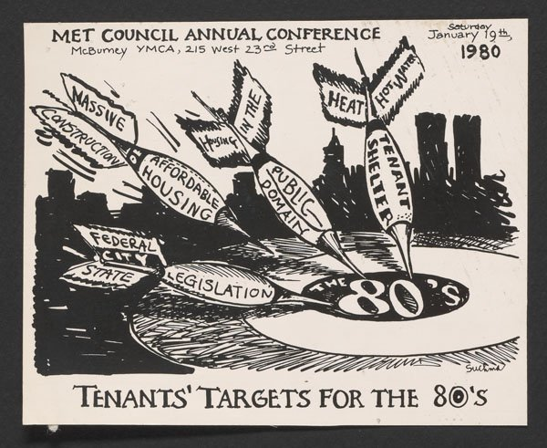 Invitation to the Met Council on Housing Annual Meeting (1980).